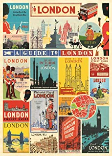 Cavallini & Co. London Collage Decorative Paper Sheet