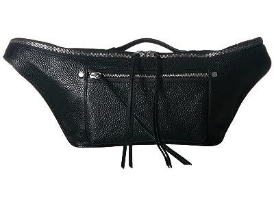 rag & bone Large Elliot Fanny Pack (Black) Wallet