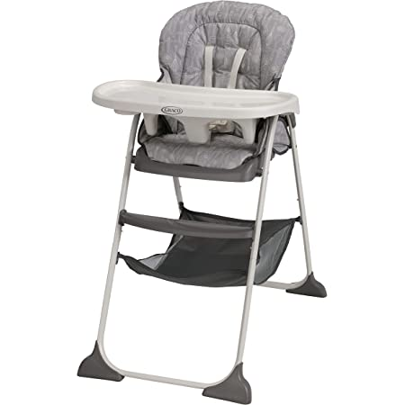 Graco Slim Snacker High Chair, Ultra Compact High Chair, Whisk