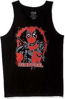 قميص رجالي بدون أكمام مرسوم عليه Deadpool من Marvel