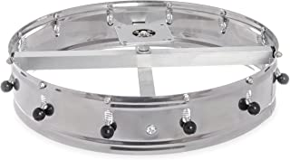 "Carlisle 3812CH Stainless Steel Ceiling-Mount Order Wheel with 12 Clips, 14"" Dia. x 4-1/2"" H"