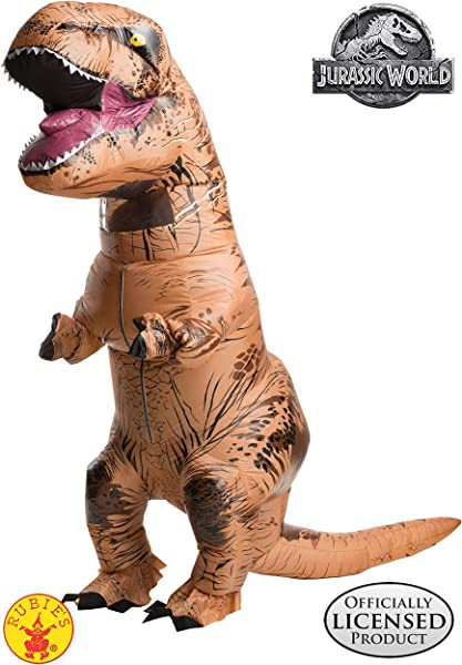 Rubie S Adult Official Jurassic World Inflatable Dinosaur Costume