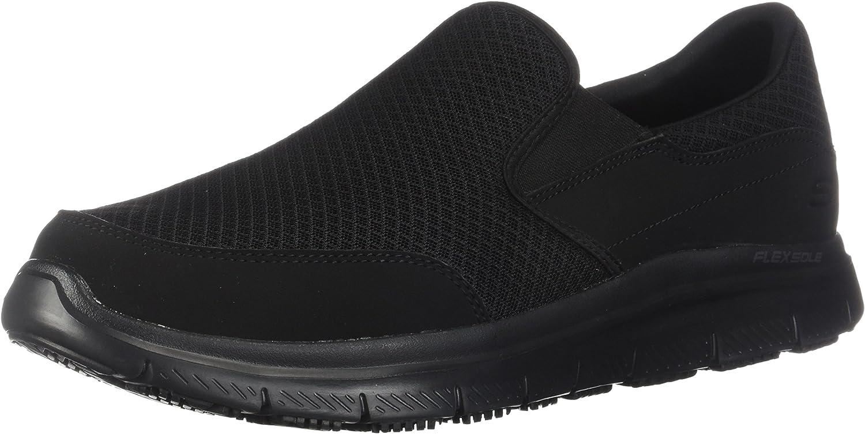 Skechers Work Work Work Men's Flex Advantage Slip Resistant McAllen Slip On 45e