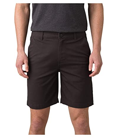 Prana Mcclee Shorts (Charcoal) Men