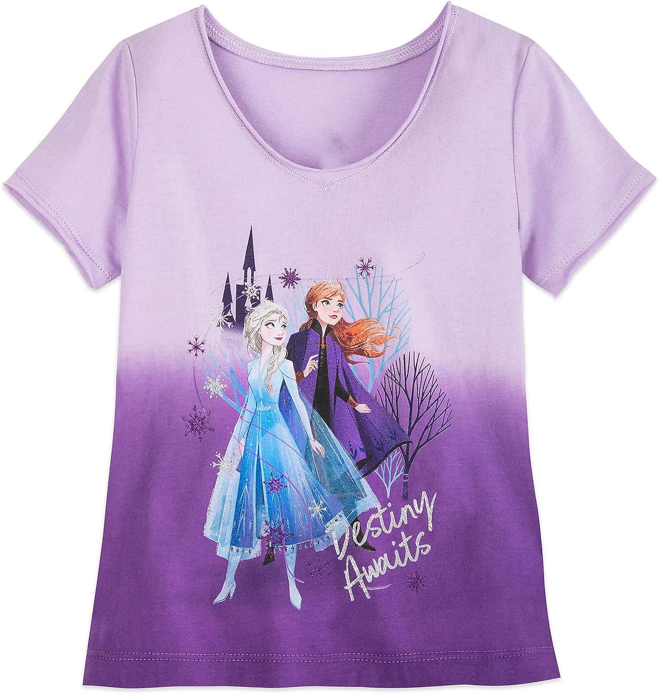 5% OFF Disney Anna and Elsa T-Shirt for II- Frozen Multi Girls – Bargain