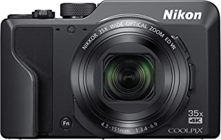Nikon Coolpix A1000 16 MP 35X Optical Zoom 4K WIFI Digital Camera Black