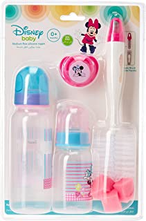 Disney - Baby Feeding 4 Pcs Gift Pack, 0+ Months - Minnie Mouse