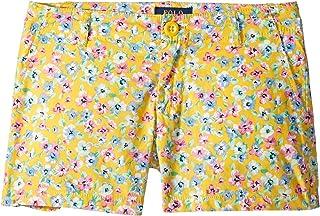 [Polo Ralph Lauren(ポロラルフローレン)] キッズショーツ?短パン Floral Poplin Shorts (Little Kids/Big Kids) [並行輸入品]