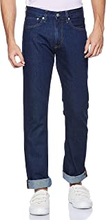 Calvin Klein Men's J30J308040-Dark Blue Calvin Klein Slim Fit Jeans For Men - Dark Blue