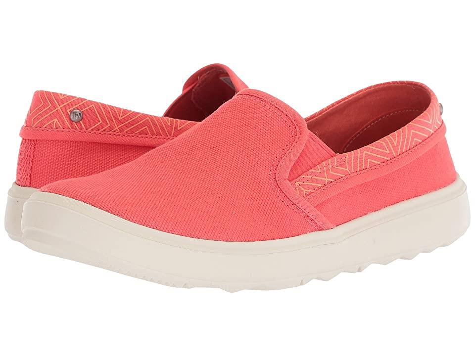 Merrell Around Town City Moc Canvas (Hot Coral) Women