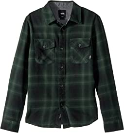 Vans Kids - Monterey II Long Sleeve Flannel (Big Kids)