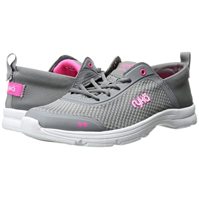 Ryka Joyful (Frost Grey/Neon Flamingo) Women