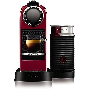 Krups yy2730fd Nespresso Citiz espumador de leche rojo: Amazon.es: Hogar