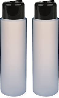 2 Pack Refillable 16 Ounce HDPE Squeeze Bottles With