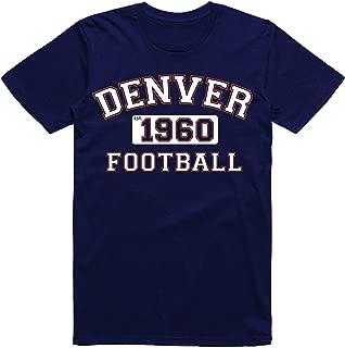 Denver Colorado Football Fans Est.1960 Old Vintage Style Classic T-Shirt