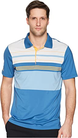 adidas Golf Ultimate Engineered Blocked Polo