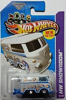 Hot Wheels 2013 Hw Showroom [169/250] - Volkswagen Kool Kombi - White