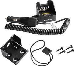 GSTZ KVC-21 Travel Car Charger for Kenwood NX410 NX300 NX210 NX200 TK5410 TK5310 TK5210 TK3180 TK2180 Radio