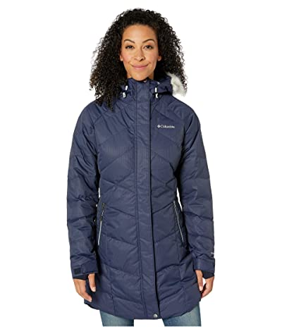 Columbia Lay D Down II Midtm Jacket (Dark Nocturnal Dobby) Women