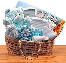 Baby Boy Beloved Baby Carrier Blue Baby Gift Basket