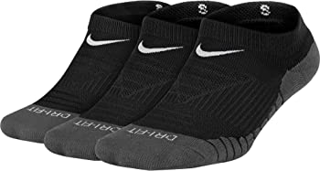 Nike 3-Pair Kid's Dry Cushion No Show Socks
