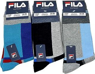 Fila, 3 calcetines cortos para niño cálido algodón elástico 8008