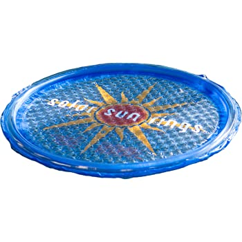 Solar Sun Rings SSR1 Swimming Pool Spa Heater 21K BTU Cover Heating SSR-1