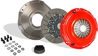 Clutch Kit With Flywheel Works With Chrysler Sebring Base Se Sxt R/T Acr High Line Lx Sport GS ESi 1995-2005 2.0L l4 GAS DOHC Naturally Aspirated (Stage 2)