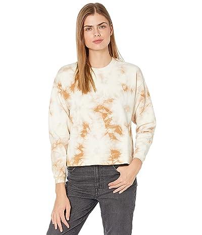 Madewell Swingy Sweatshirt in Tie-Dye (Earthen Sand) Women