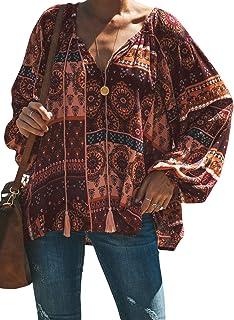 Asvivid Donne Rushguard Costumi da bagno Floreale Manica Lunga Blocco di Colore Surf Tankini Costume da bagno