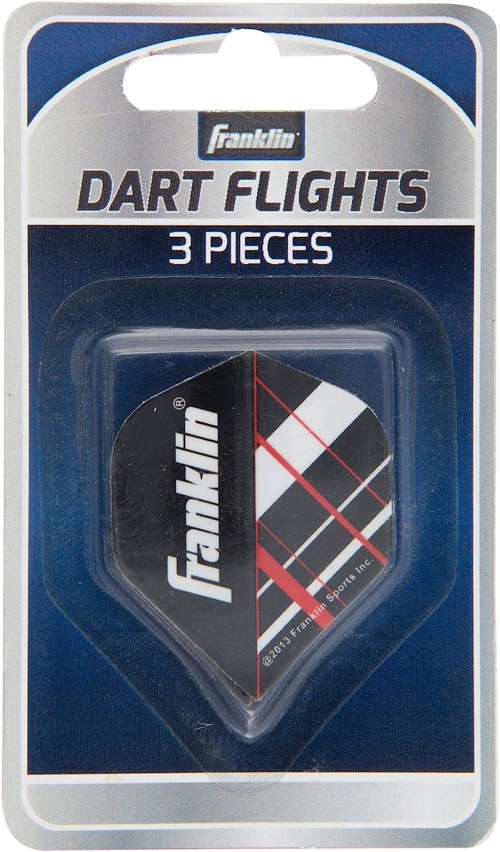Franklin Sports 3-Piece Replacement Metallic Flights (Assorted c