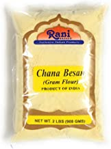 Rani Chana Besan - Chickpeas Flour, Gram 2lb (32oz) ~ All Natural | Vegan | Gluten Free Ingredients | NON-GMO | Indian Origin