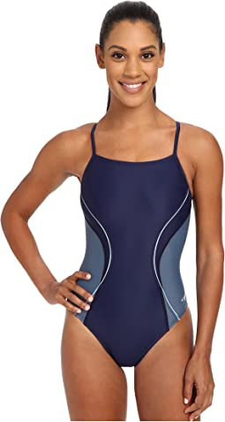 Speedo Revolve Splice Energy Back One-Piece