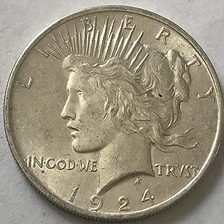 1923 silver dollar peace coin