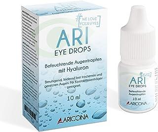 Gotas oculares ARI EYE DROPS - 0,3% gotas oculares de hialuron contra la sequedad de los ojos - hidratante y calmante (1x 10ml)