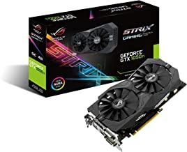 ASUS Geforce GTX 1050Ti 4GB ROG STRIX OC Edition HDMI 2.0 DP 1.4 Gaming Graphics Card (STRIX-GTX1050TI-O4G-GAMING) Graphic...