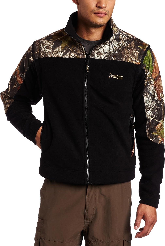 Rocky Men's Fleece Vest/Jacket Combo