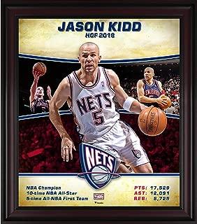 Jason Kidd New Jersey Nets Framed 15