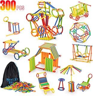 Building Toy, NextX 300 Pieces Educational Building Toy,...