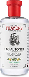 Thayers ウィッチヘーゼル アルコールフリートナー アロエベラフォーミュラ キューカンバー 355 ml