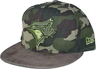 Toronto Blue Jays New Era Suede Bill Snapback Adjustable One Size Fits Most Hat Cap - Camouflage