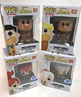 Funko Fred Flintstone - Barney Rubble - Pebbles & Bamm Bamm 3.75