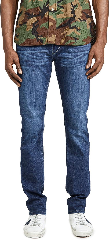 Special sale item PAIGE Men's Cheap Lennox Slim Jeans in Wash Leo