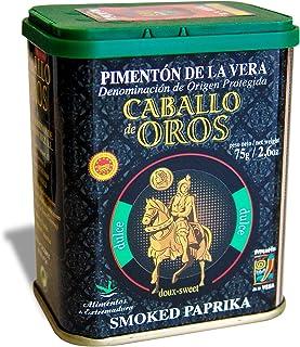 Caballo de Oros - Pimentón de la Vera dulce D.O.P. Lata de