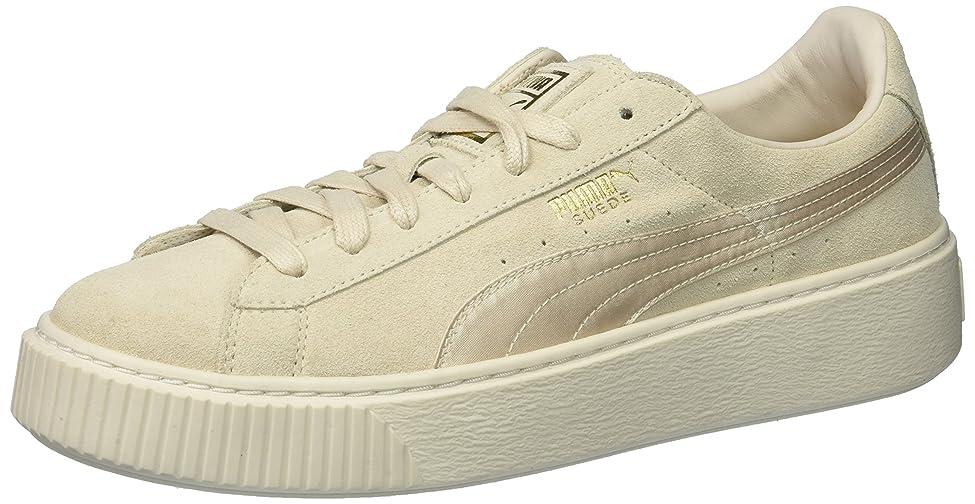 通信するに付ける独占Puma Women's Suede Platform Mono Satin Ankle-High Fashion Sneaker