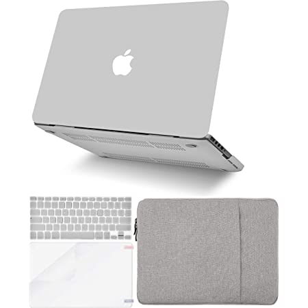 w//Keyboard Cover Plastic Hard Shell Case A2179//A1932 4 in 1 Bundle Sleeve 2020//2019//2018, Touch ID KECC Laptop Case for MacBook Air 13 Retina Screen Protector Rainbow Mist