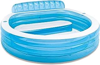 Intex Swim Centre Family Lounge Pool, Blue