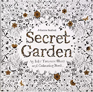 Colouring Books For Adults Kids,Secret Garden Crafts For Adults Couloring In Book Flower Animal Colouring Books,DIY Craft ...