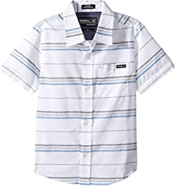 O'Neill Kids - O'Neill Stripe Short Sleeve Woven (Toddler/Little Kids)