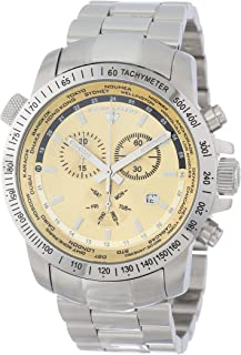 Swiss Legend Men's 10013-10 World Timer Collection Chronograph Stainless Steel Watch